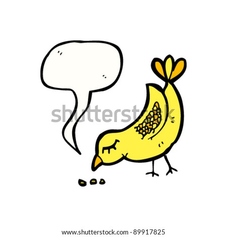 Cartoons Birds Images Bird Pecking Ground Cartoon
