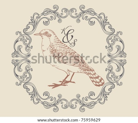 bird print with very cool
