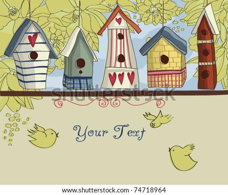 birdhouses  horizontal