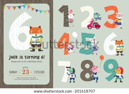 birthday anniversary numbers