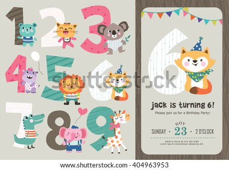 birthday anniversary numbers