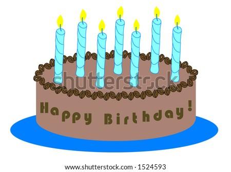 Coffee Lover Birthday Cake Birthday Cake For Coffee