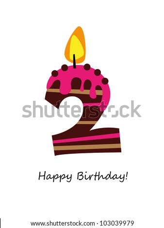 Birthday card ストックフォト ©