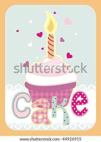 Birthday Card Design Stock Vector 44926915 : Shuttersto