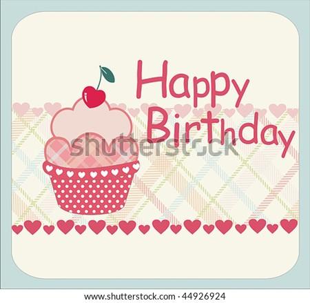 Birthday Card Design Stock Vector 44926924 : Shuttersto