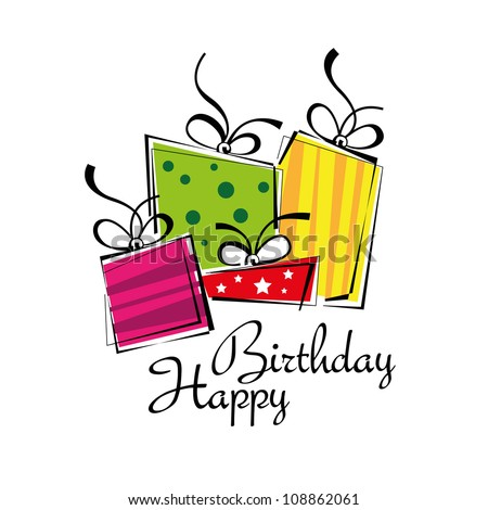 Birthday card, gift card, gifts ideal for Christmas