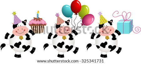 birthday funny cows