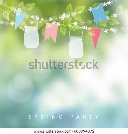 birthday garden party or festa