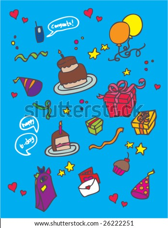 surprise birthday party clip art. surprise birthday party clip