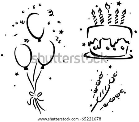Pictures Of Birthday Cakes And Balloons. Cake, Birthday Balloons,