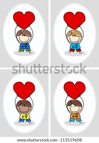 birthday valentines day or other celebration - stock vector