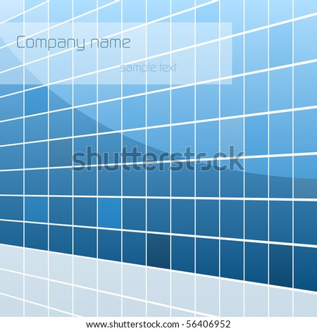 bisness building vector card