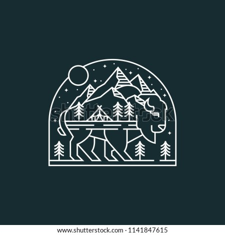 Bison Monoline Adventure