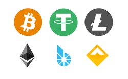 Bitcoin, Ethereum, Litecoin one of the first cryptocurrencies created in blockchain technology.