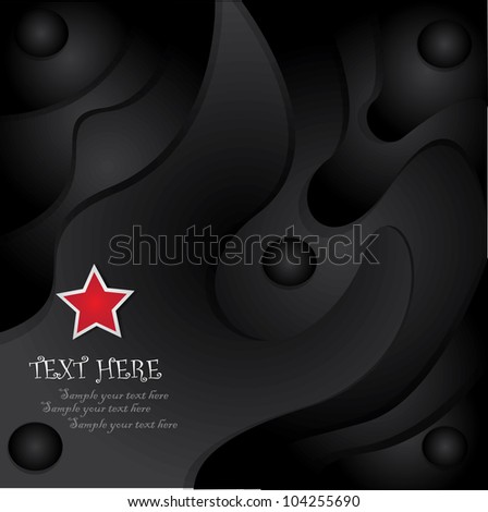 Black abstract background,Vector