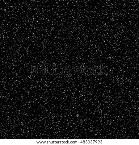 Black abstract background with film grain texture, noise, halftone, grunge for design concepts, banners, posters, wallpapers, web, presentations and prints. Vector illustration.