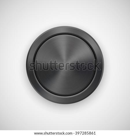black abstract circle geometric