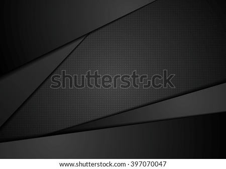 black abstract corporate