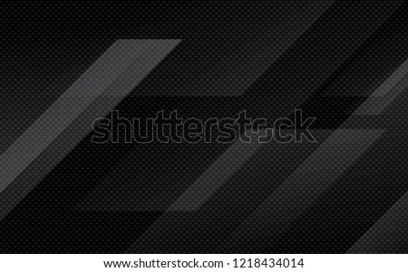 Black abstract geometric background. Modern shape concept.