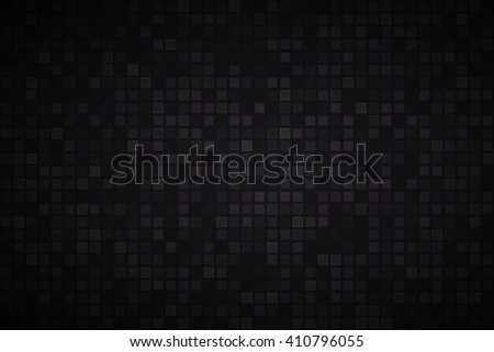 black abstract vector