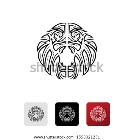 black alliance lion icon