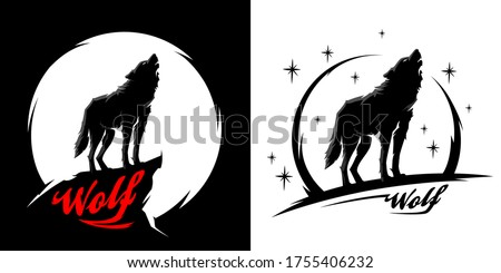 black alpha male lone wolf with