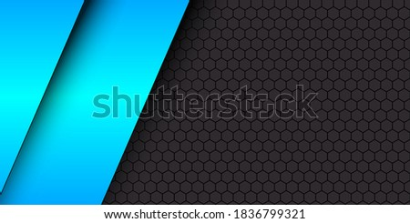 black and blue modern material