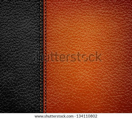 Leather background templates download free vector art stock black and brown leather background vector illustration pronofoot35fo Image collections