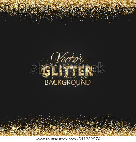 black and gold background with