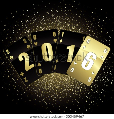 Black and gold cards 2016 #303459467