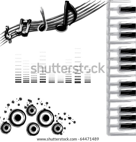 black and grey backgrounds. stock vector : Black and grey