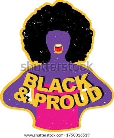 black and proud black lives