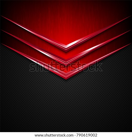 black and red metal  texture