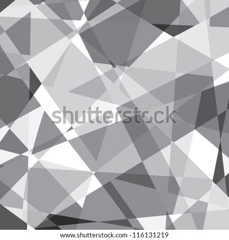 Black and white abstract background vector eps8