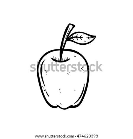 black and white apple using
