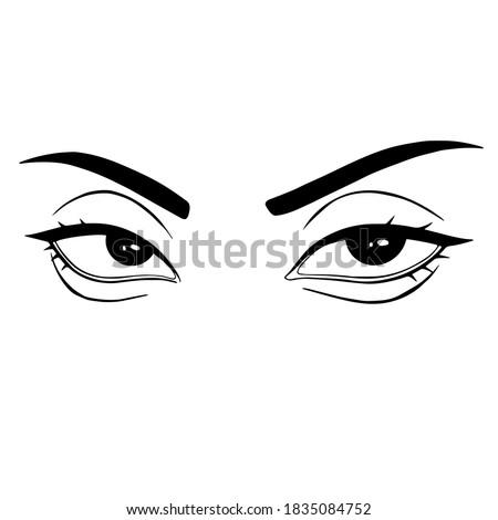black and white  b w  eye icon