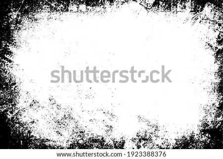 Black and white background. Monochrome grunge background. Abstract texture of dirt, dust, blots, chips. Dirty dirty surface