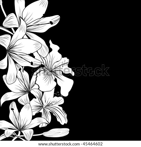 black and white background images. stock vector : Black and white