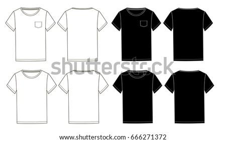 Jersey T Shirt Template Download Free Vector Art Free