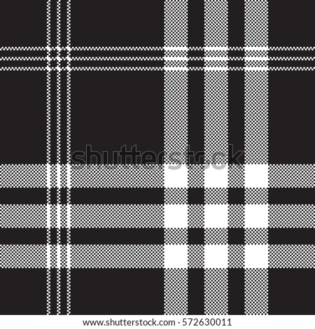 stock-vector-black-and-white-check-pixel-square-fabric-texture-seamless-pattern-vector-illustration