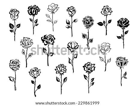 Liefde Tattoo Rose Download Gratis Vectorkunst En Andere