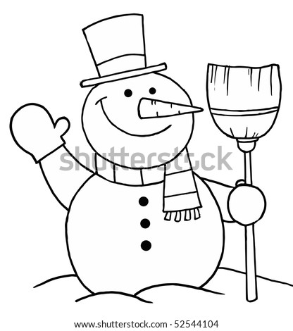 And White Coloring Page
