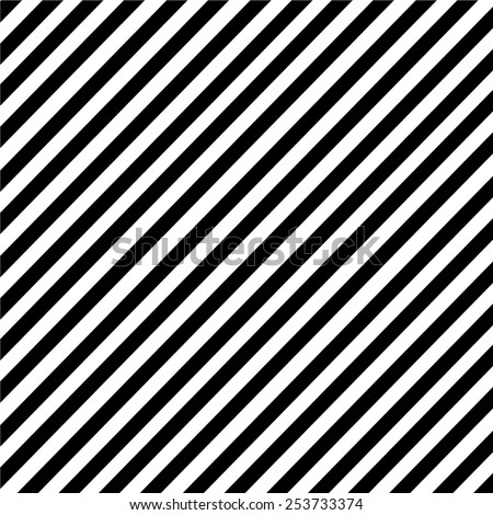 Black and white diagonal stripe pattern