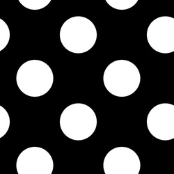 Black and white dotted, dots, circles pattern, background (Geometry is seamlessly repeatable)