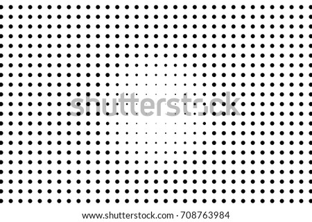 Vector Seamless Retro Pattern, Polka Dot With Hearts. Can Be ...