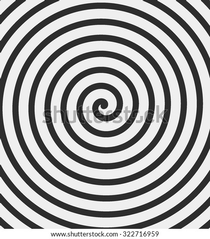 black and white hypnotic