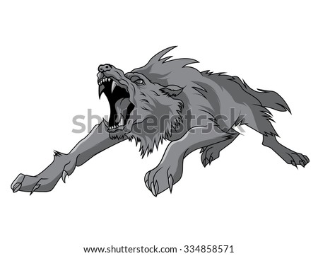black and white isolated vector