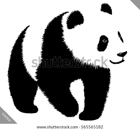panda vector download free vector art stock graphics images