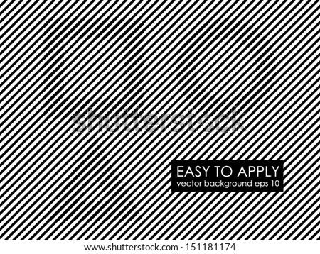 Black and white lines illusion square circle triangle