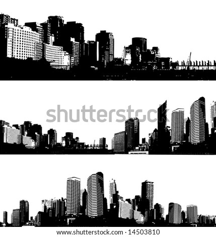 black and white art pictures. stock vector : Black and white